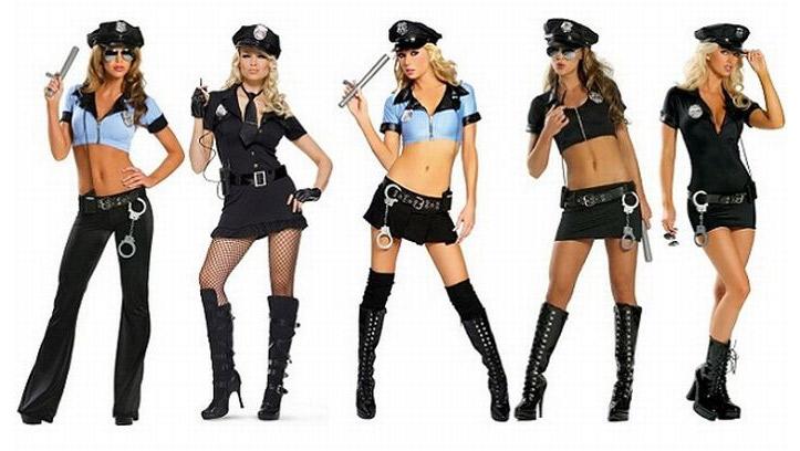 Девичник в стиле полиции
