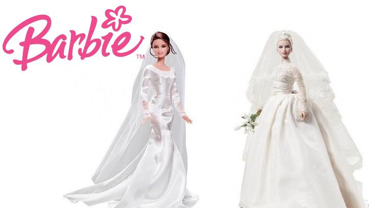Свадебные Барби