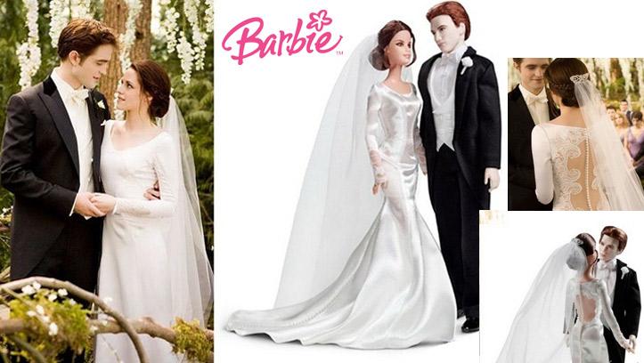 Кукла Барби в свадебном образе Беллы Свон