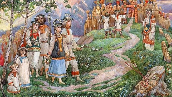 История свадебного наряда русских невест