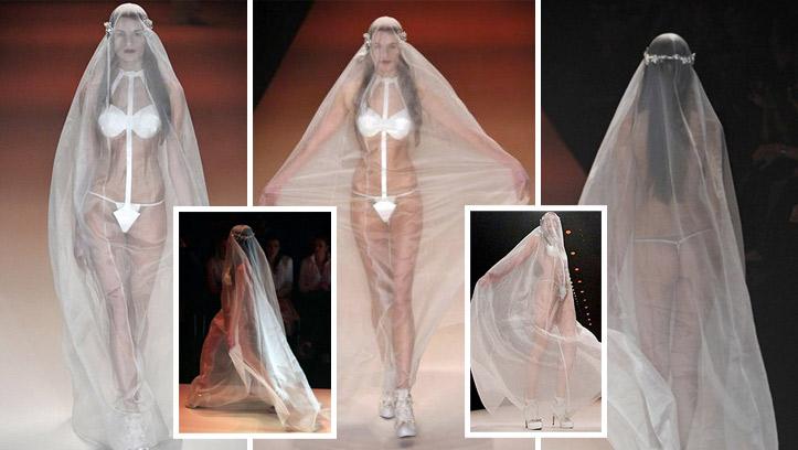 Самое откровенное платье 2012 года