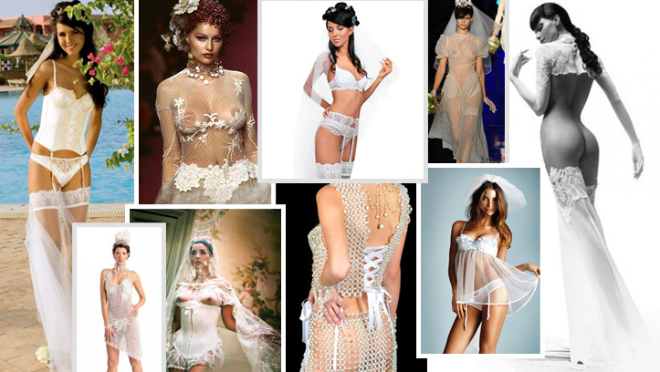 Красивые откровенные свадебные платья и наряды