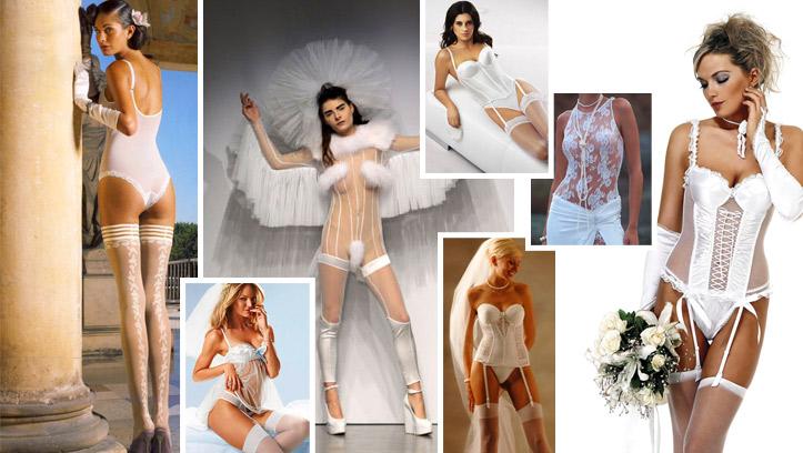 Откровенные свадебные платья
