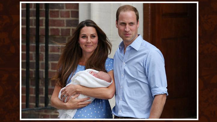 Сын принца Уильяма и Кейт Миддлтон