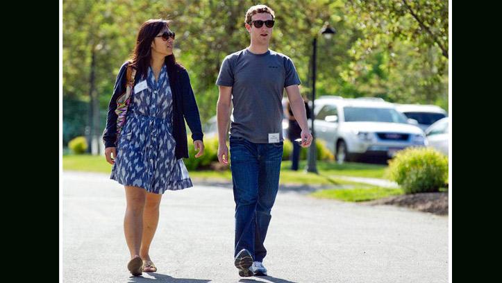 Свадьба Марка Цукерберга