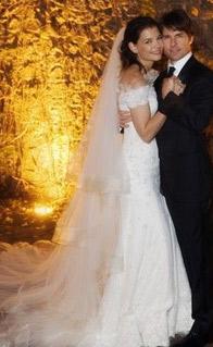 Свадьба Тома Круза и Кети Холмс