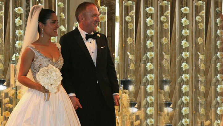 Свадьба Сальмы Хайек