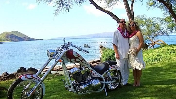 Байкерская свадьба